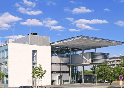 Heutiges MPI-Gebäude